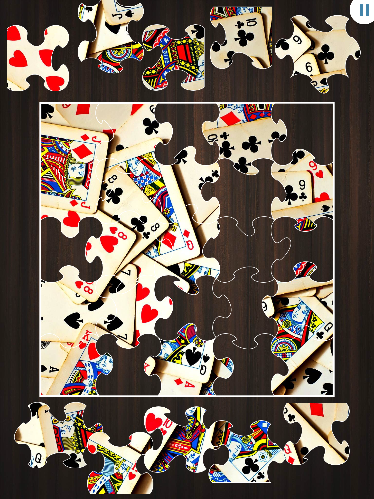Jigty Jigsaw Puzzles by Outfit7, recommended app for people living with dementia