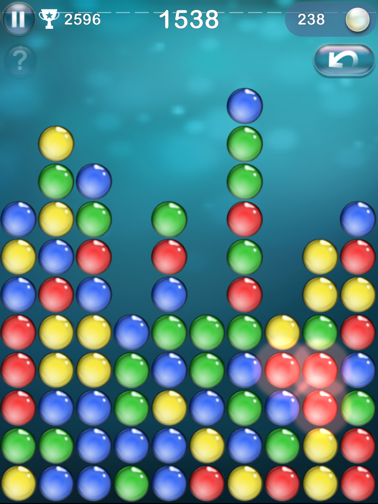 Bubble Explode by Spooky House Studios, recommended app for people living with dementia
