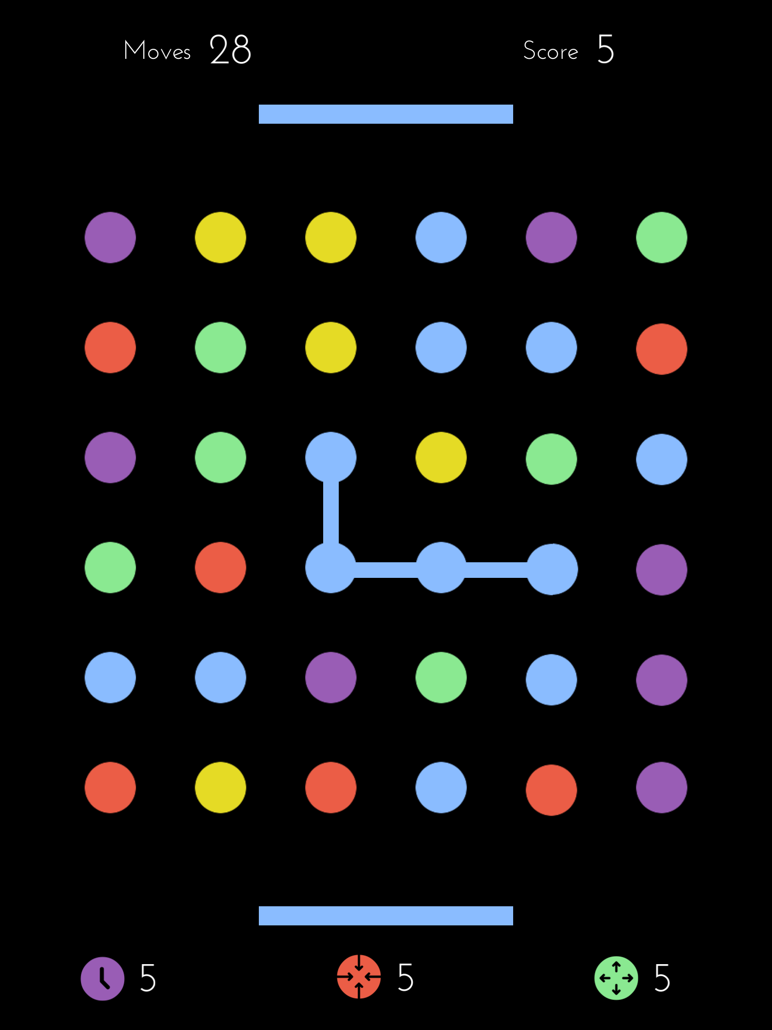 Dots by Playdots, Inc., recommended app for people living with dementia