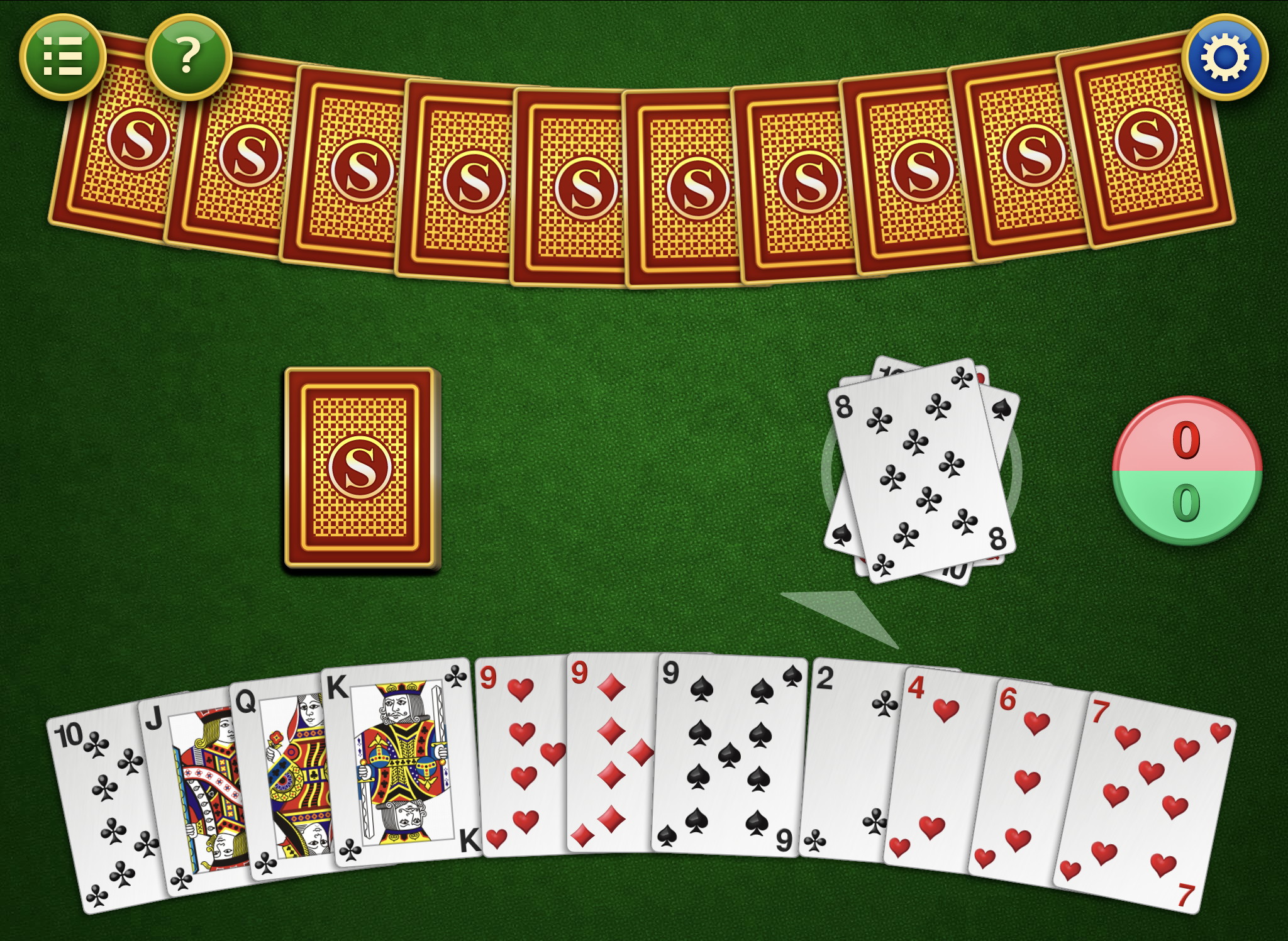 Gin Rummy by Mahjong, recommended app for people living with dementia