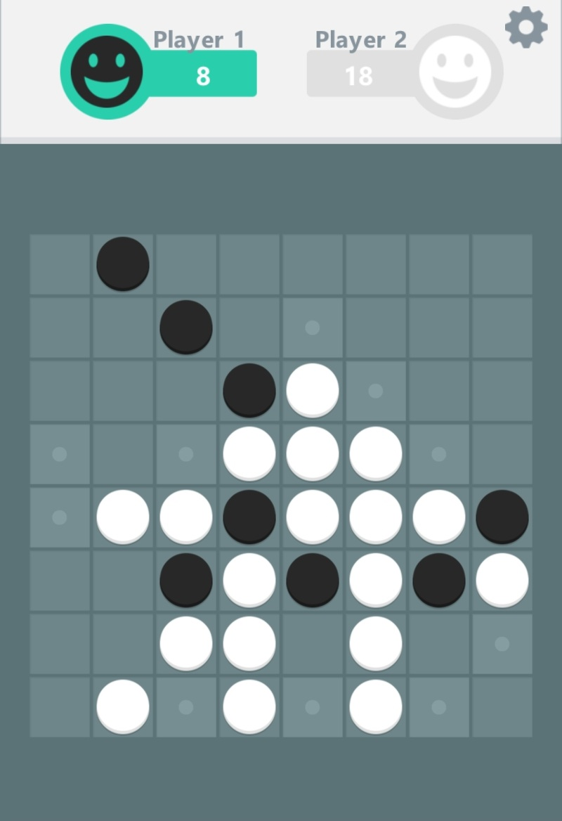 Reversi by Banana & Co, recommended app for people living with dementia