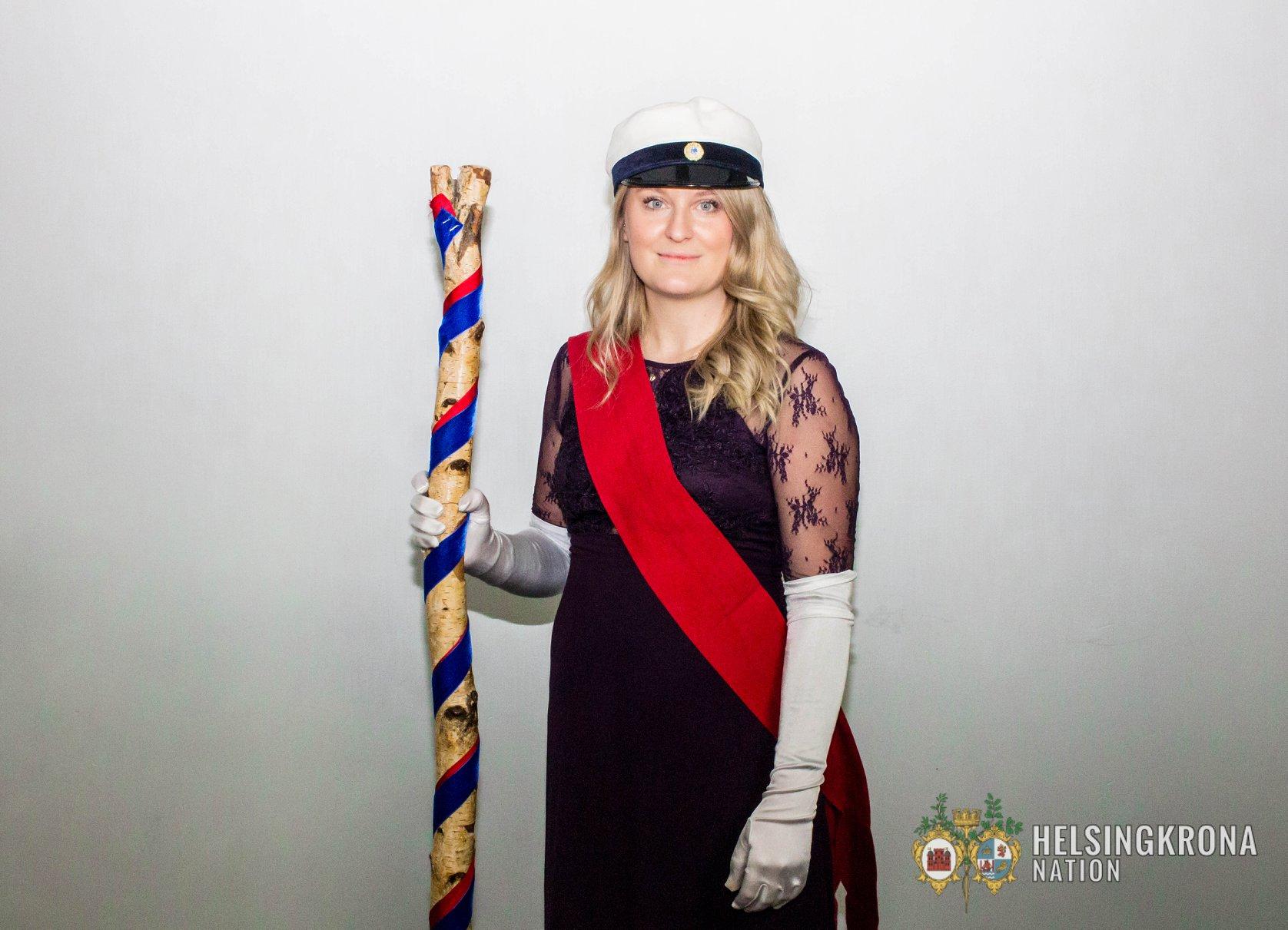 Maja Nilsson, Övermarskalk.