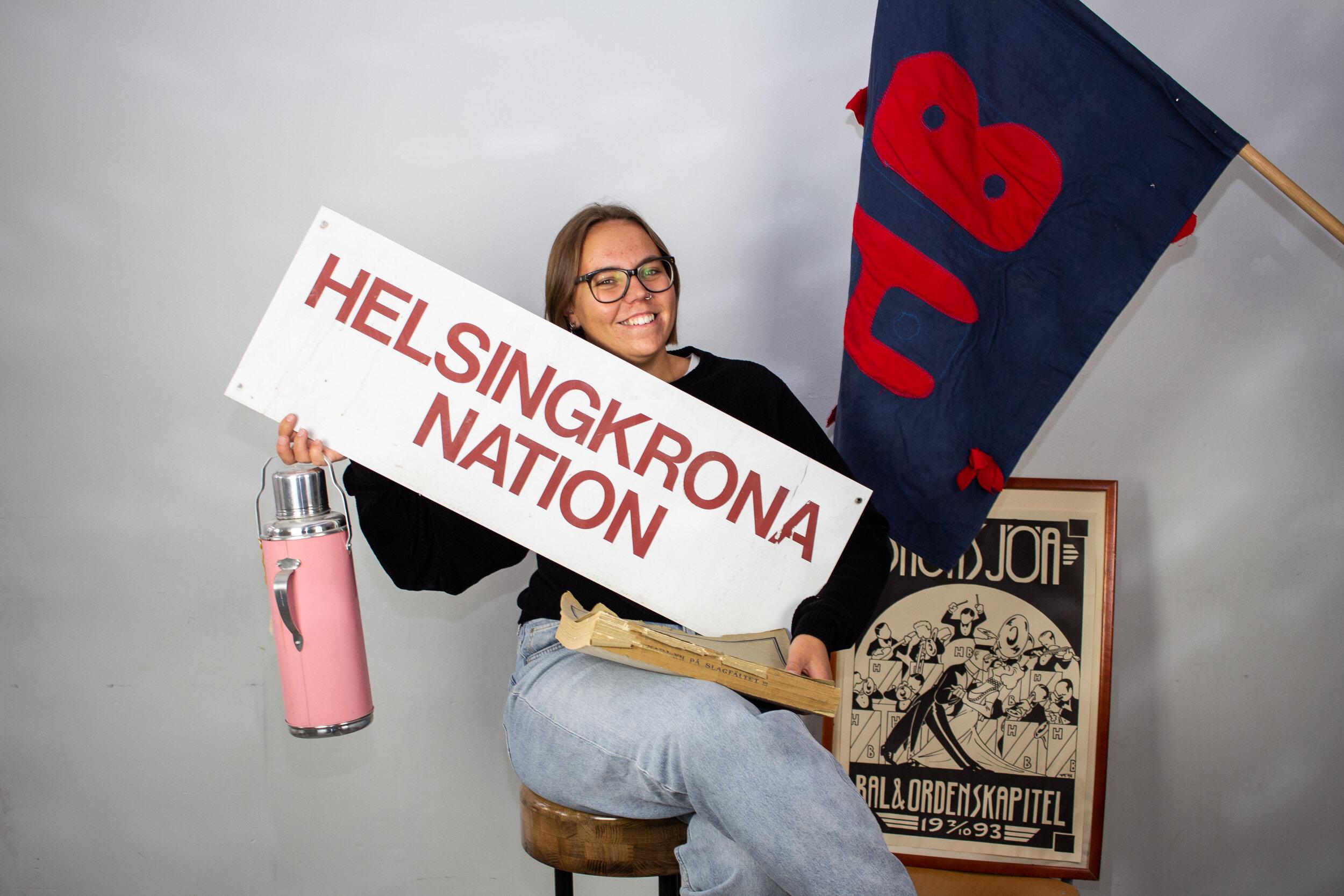 Hanna Månsson, Arkivarie.