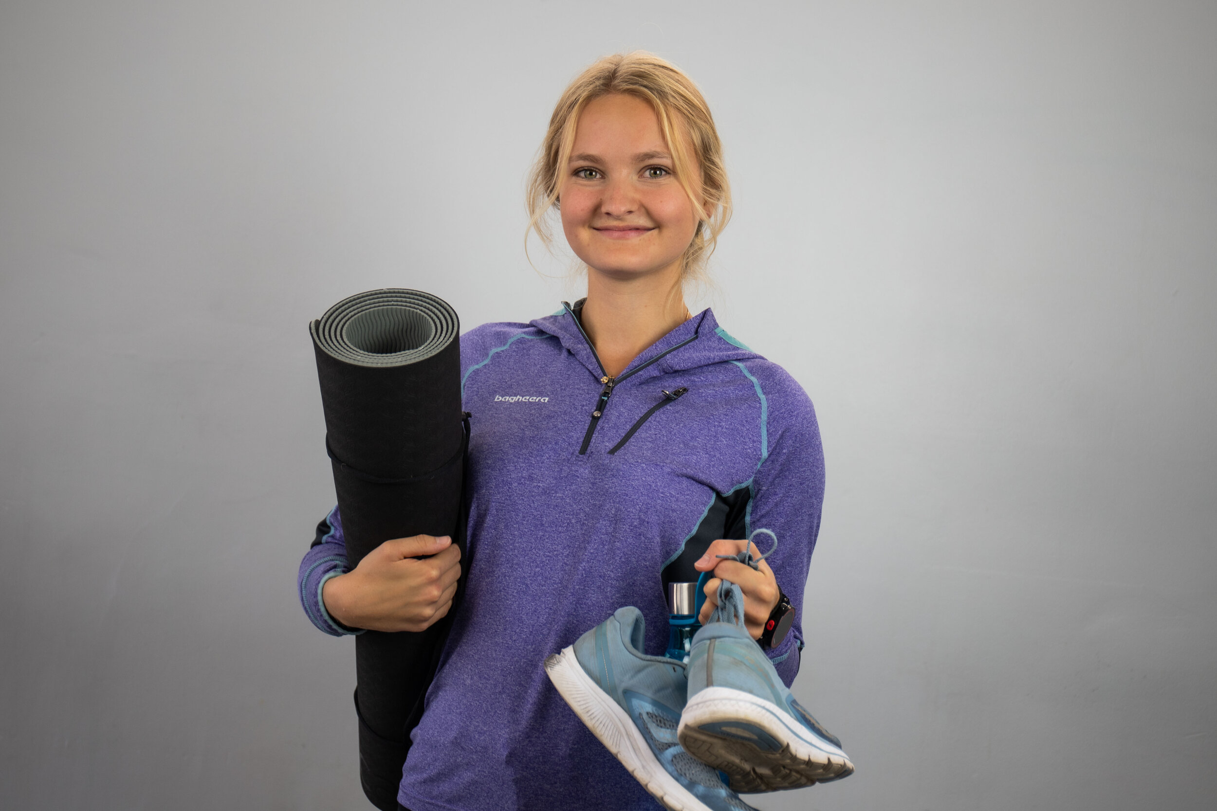 Sara Forsberg, Idrottsförman.