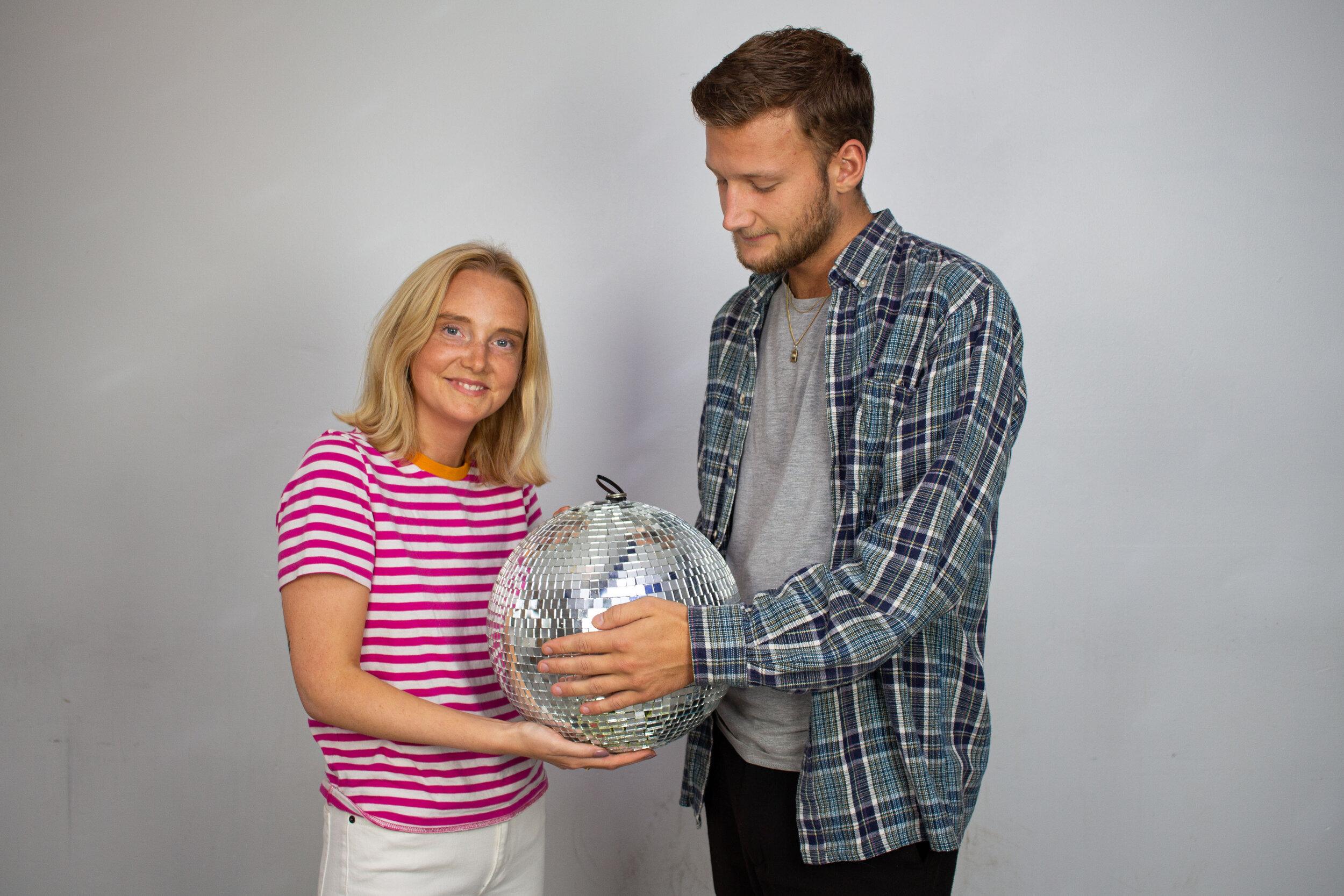 Karolina Rosengren och Fred Benz, Klubkoordinatorer.