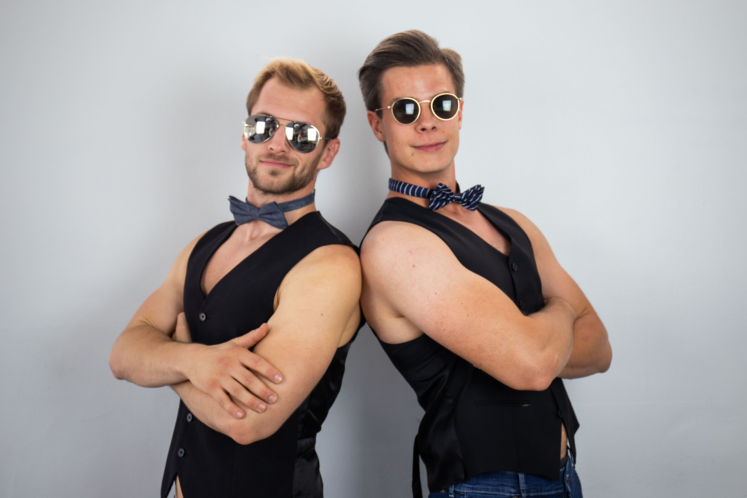 Eric Kranz och Nicolas Pershaf, Sexmästare.