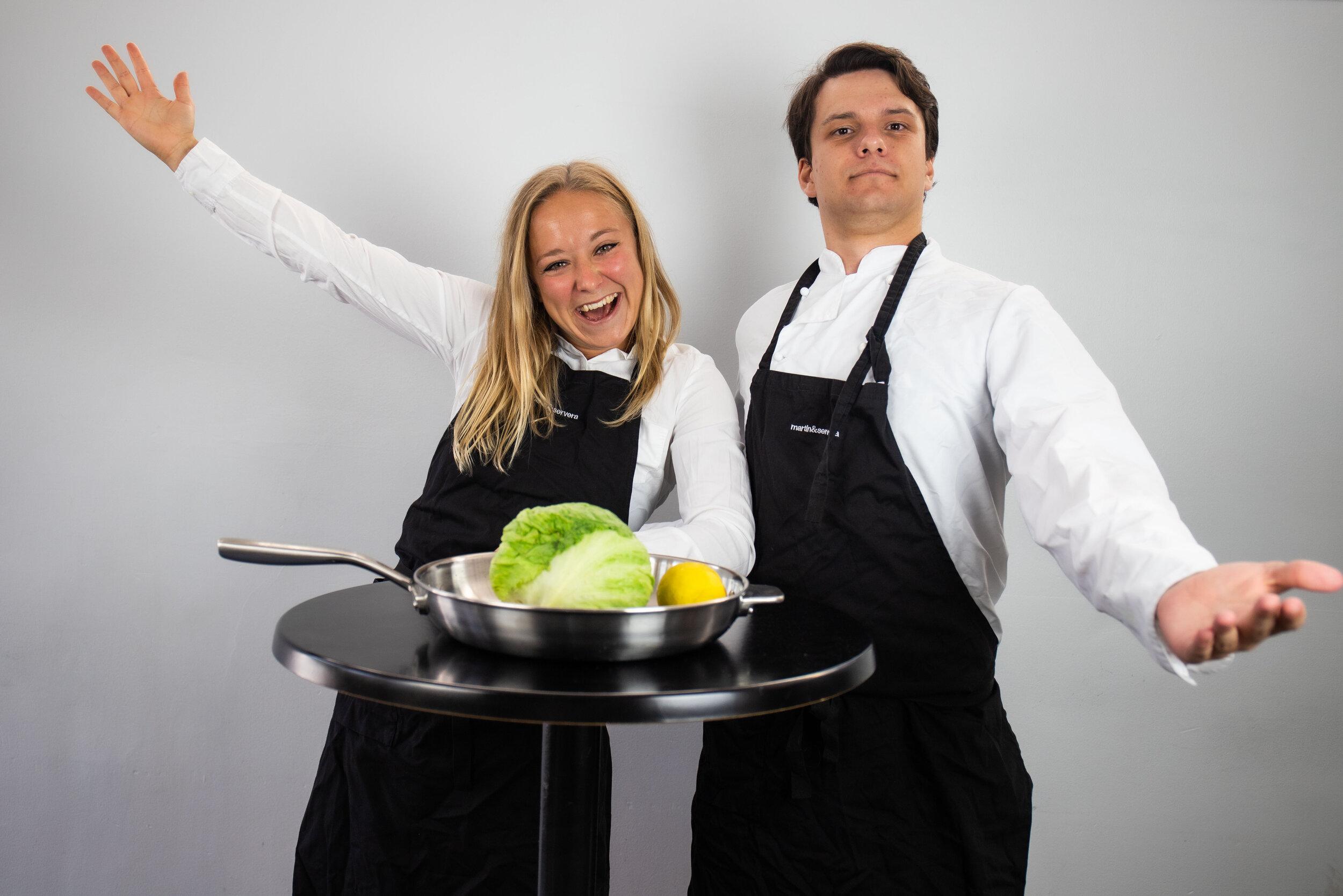 Nanna Malmbord Rasmussen och Sigfrid Forsberg