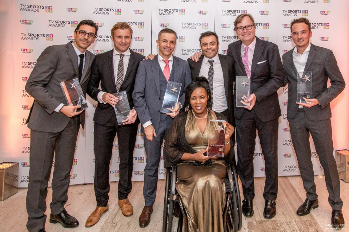 Andrea Radrizzani wiith the 2016 winners