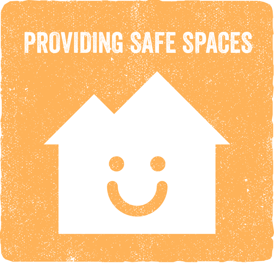 Copy of Copy of Providing Safe Spaces