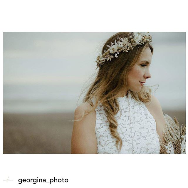 Posted @withrepost • @georgina_photo Beautiful Laura & that insanely pretty dried floral crown ....... I can't wait to share more from this gorgeous intimate elopement by the sea @l_l_maddox  Makeup by the brilliant @crueltyfree_makeupartist  Floral crown by @f.o.l.k.y.d.o.k.e.y . . . . #driedflowers #floralcrown #modernmuse #bohowedding #beachbride #adventuresession #loversgettinglost #elope #modernbride #weddingday #whitbywedding #bridestyle #floralfix #fineartflorals #floralartistry #inspiredbypetals #wildforflowers #minimalbride #contemporarybride #modernbride #londonweddingphotographer #yorkshireweddingphotographer #modernmuse #modernbride #shesaidyes #bridetobe