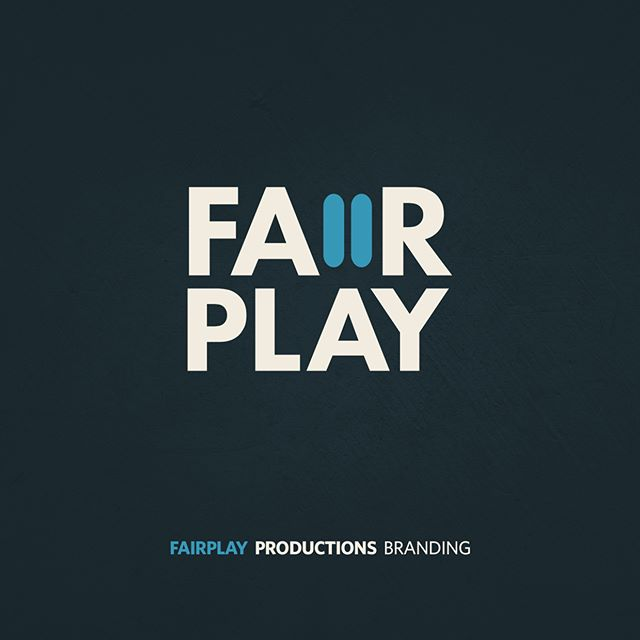 FairPlay Productions Branding #WIP #design #logo #identity #branding #logotype #video #production #play #logoinspiration #logodesign #logodesigner #graphicdesign #logobrand #gfxmob #logodaily #music #pause #corporateidentity #simplicity #icon #mark #symbol #minimal