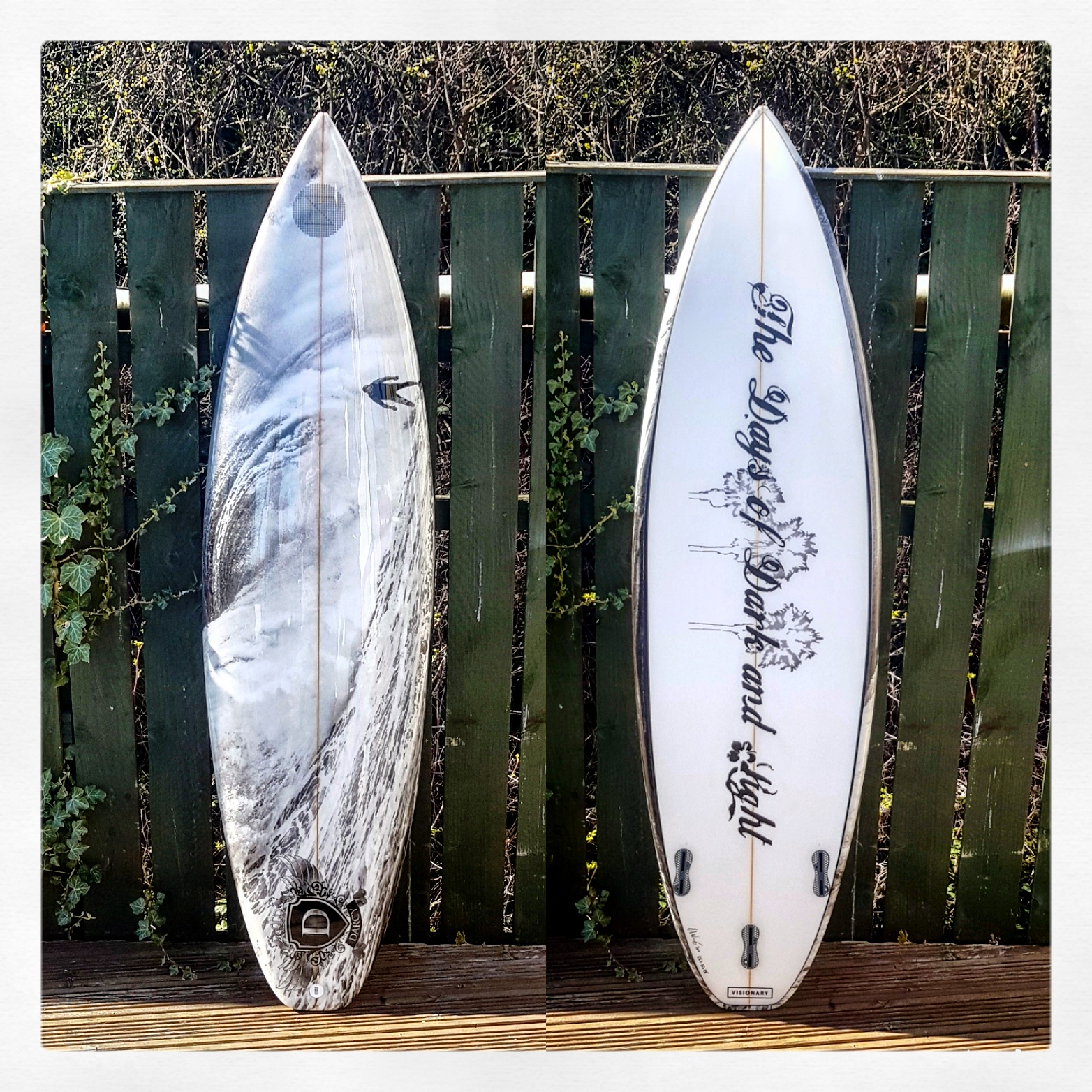 Custom Scavenger Shortboard Surfboard
