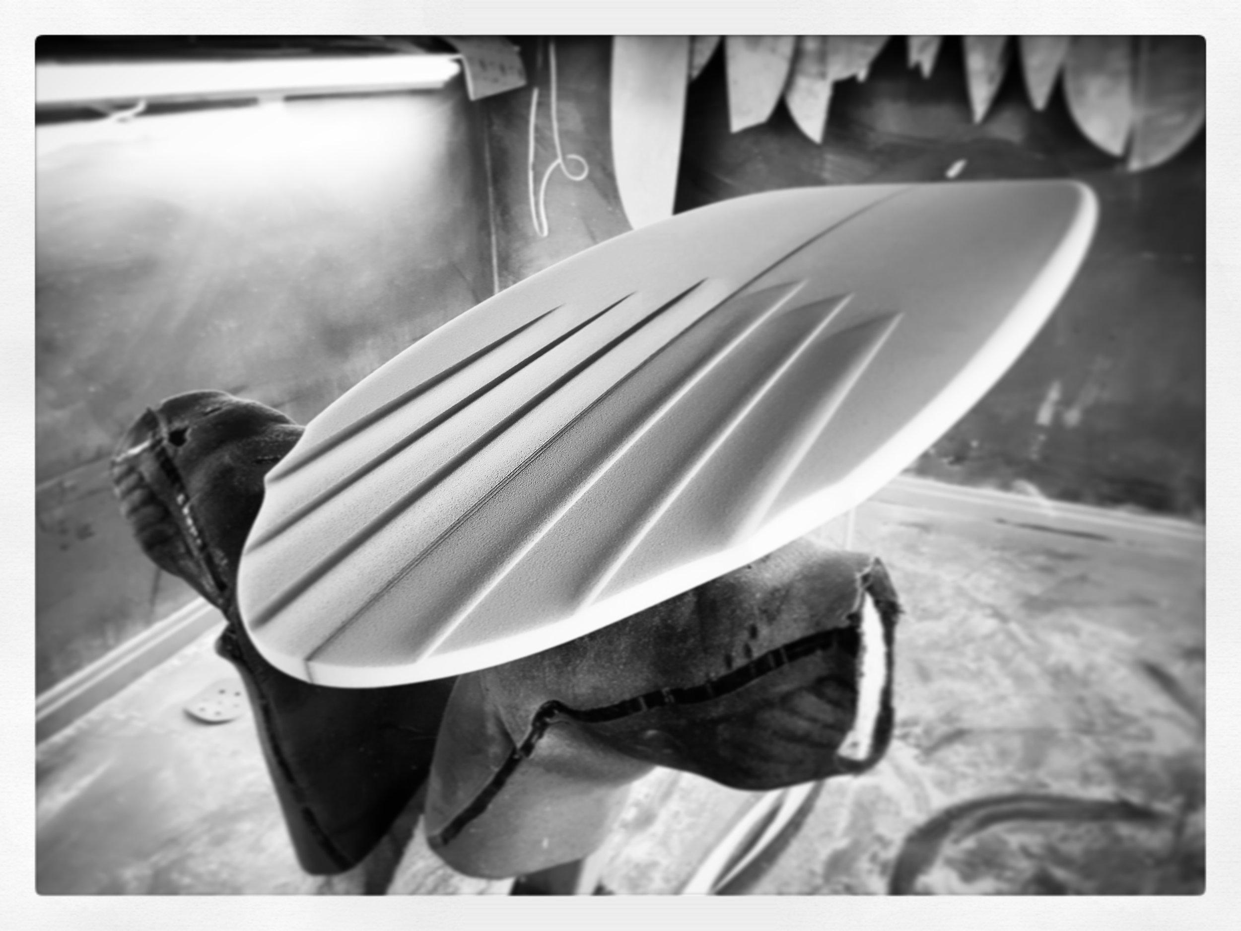 Custom Surfboard Channels