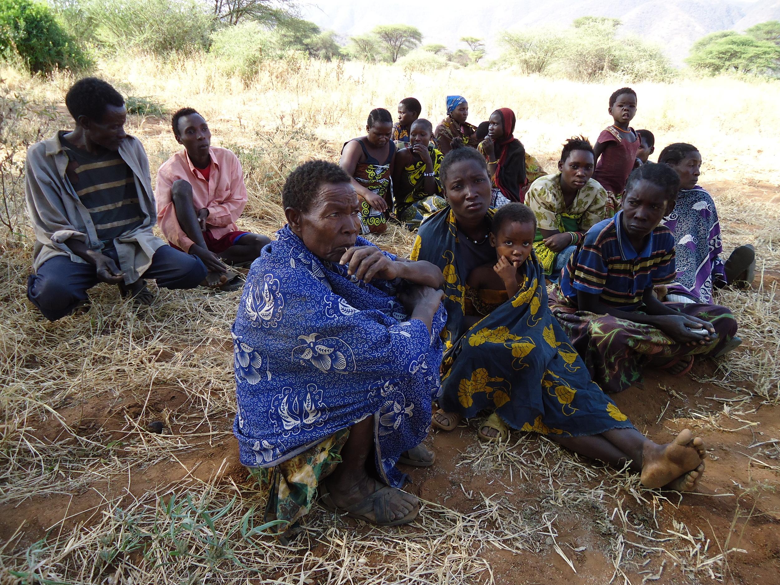 Members of the Hadzabe community.JPG
