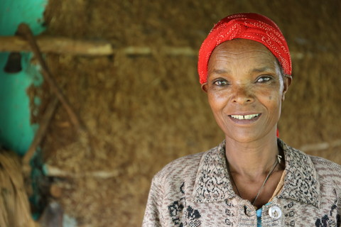 Chaltu Negero, 55, has lived in this area for 37 years. Image by WaterAid/ Behailu Shiferaw.