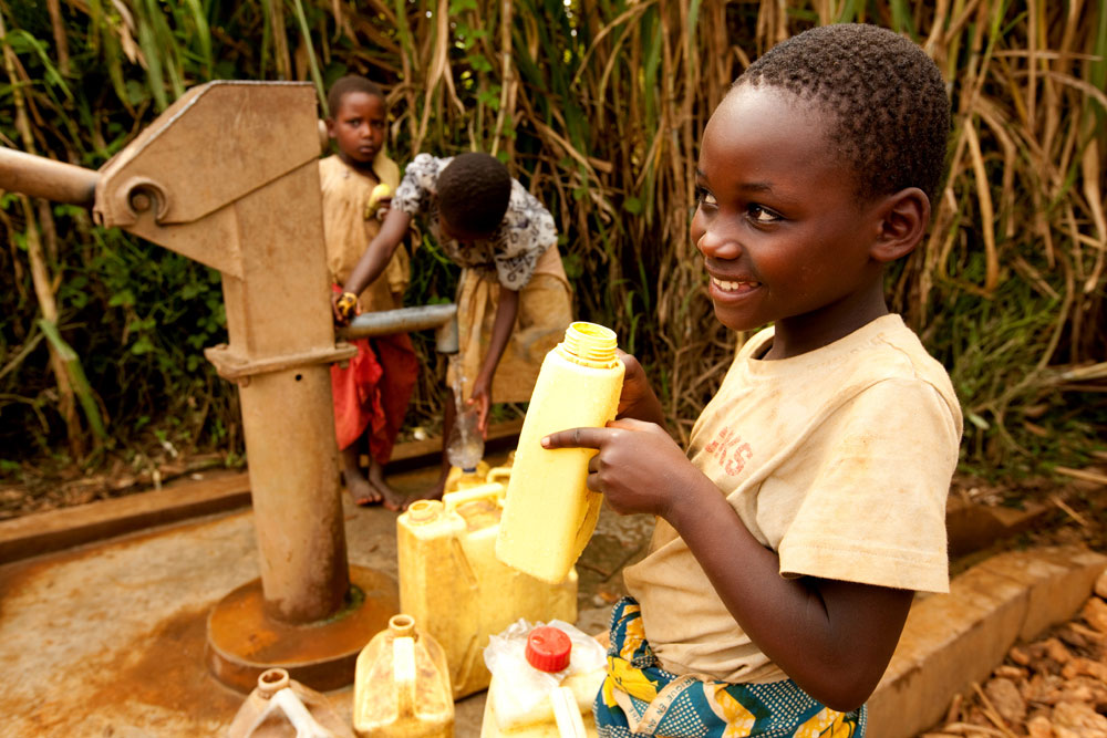 Photo: charity: water, Rwanda