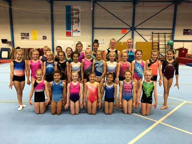 Vandaag met een deel van de groep te gast bij Pro patria in Zoetermeer!  Lekker gewerkt meiden! 💪👍