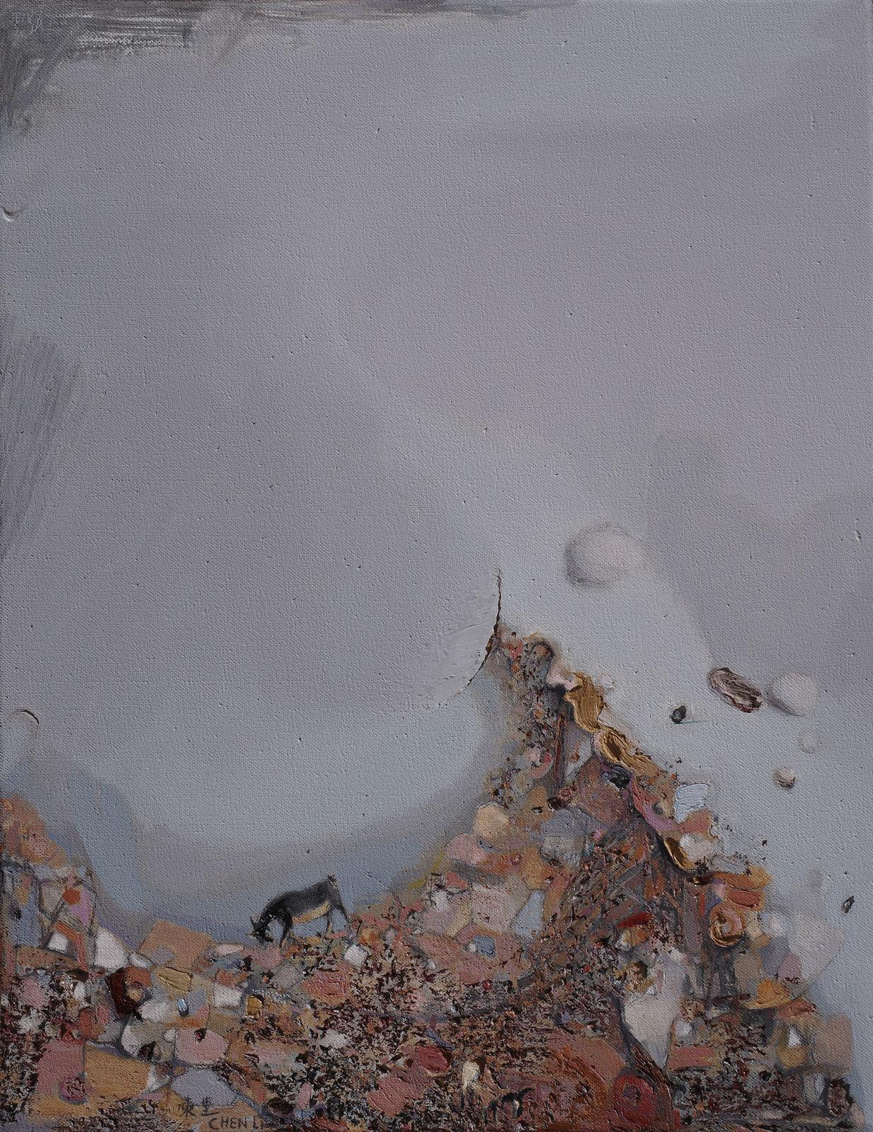 Stillness, Dongchuan Mountain 90X70cm.jpg
