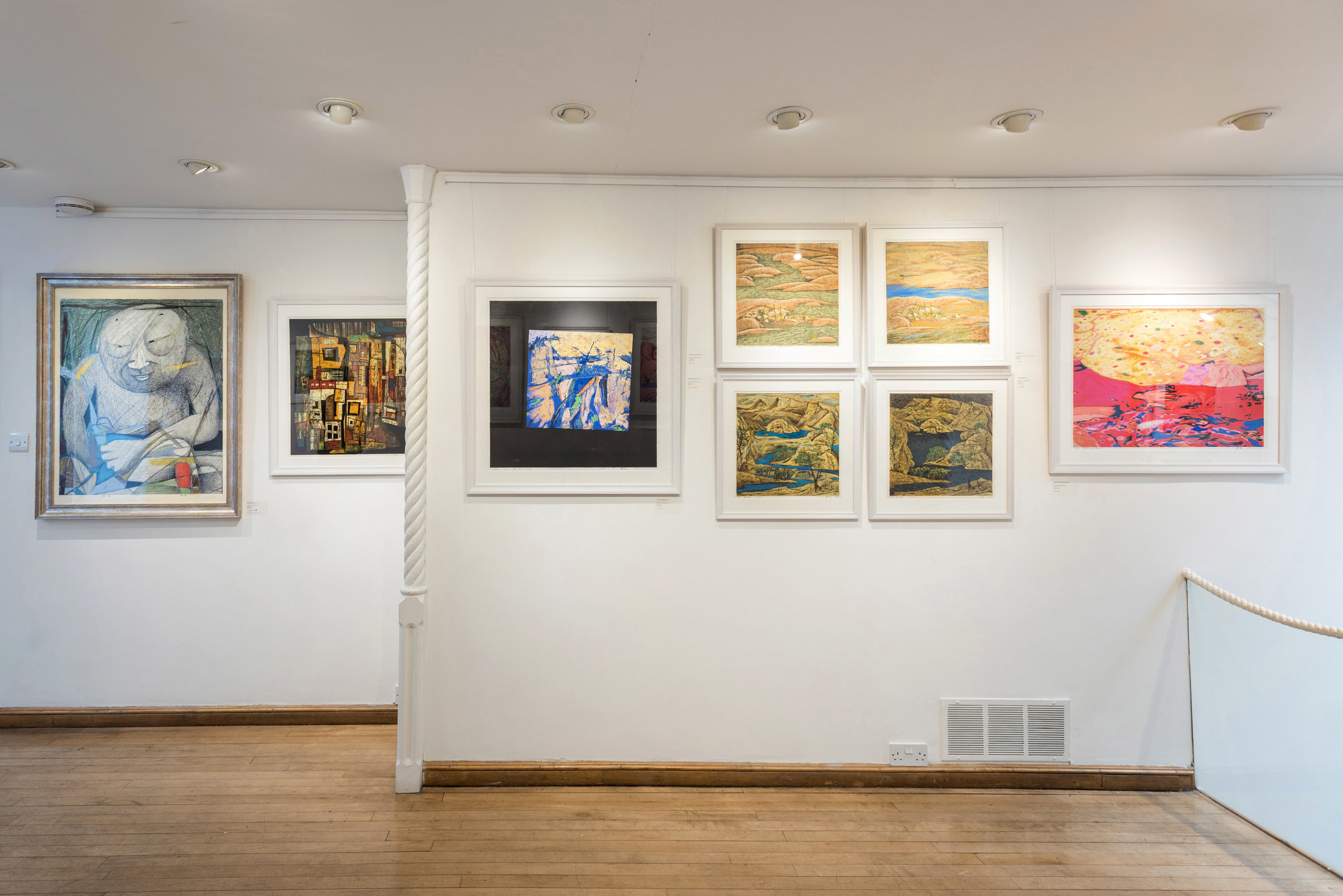 """Fitzrovia, London 2019:  """"Chen Li: The Woodblock Prints"""""""