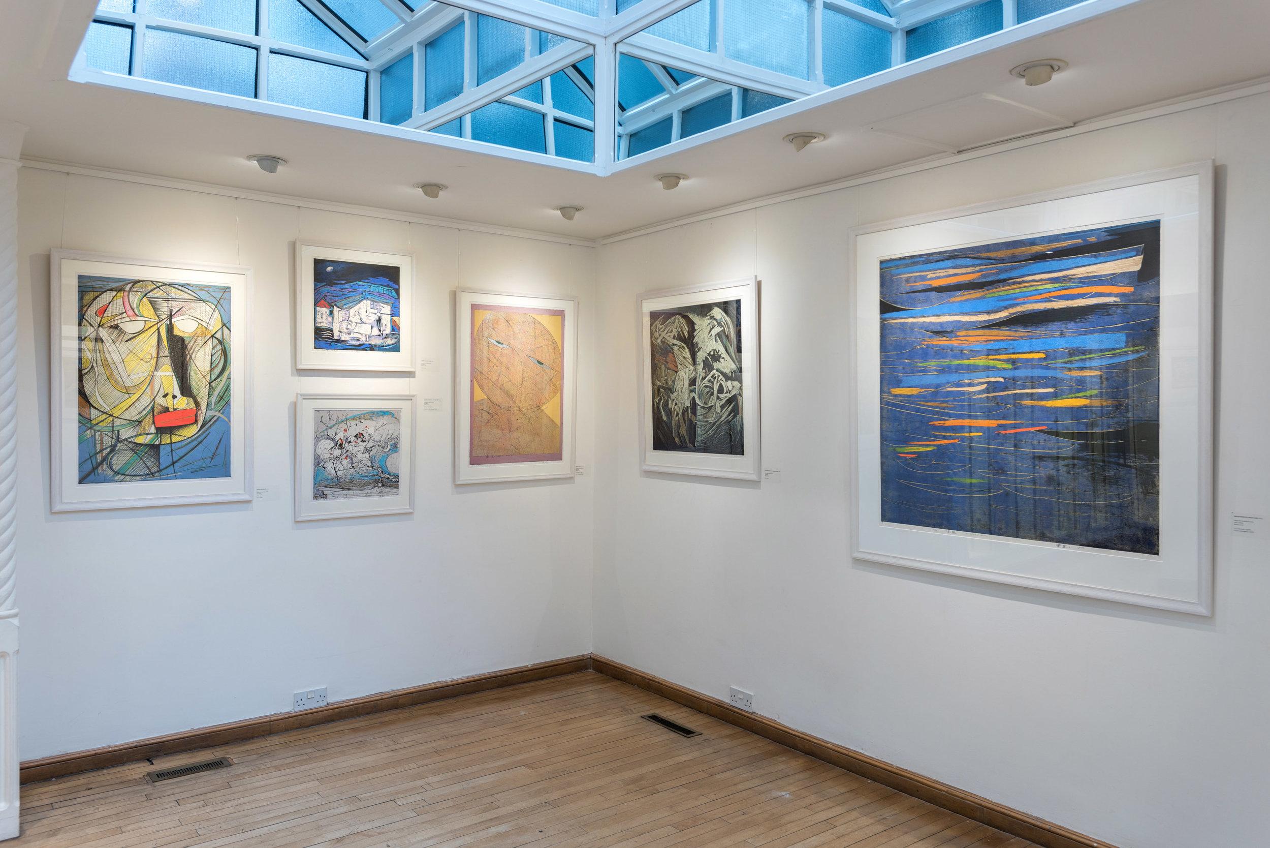 """Fitzrovia, London 2018:  """"Chen Li: The Woodblock Prints"""""""