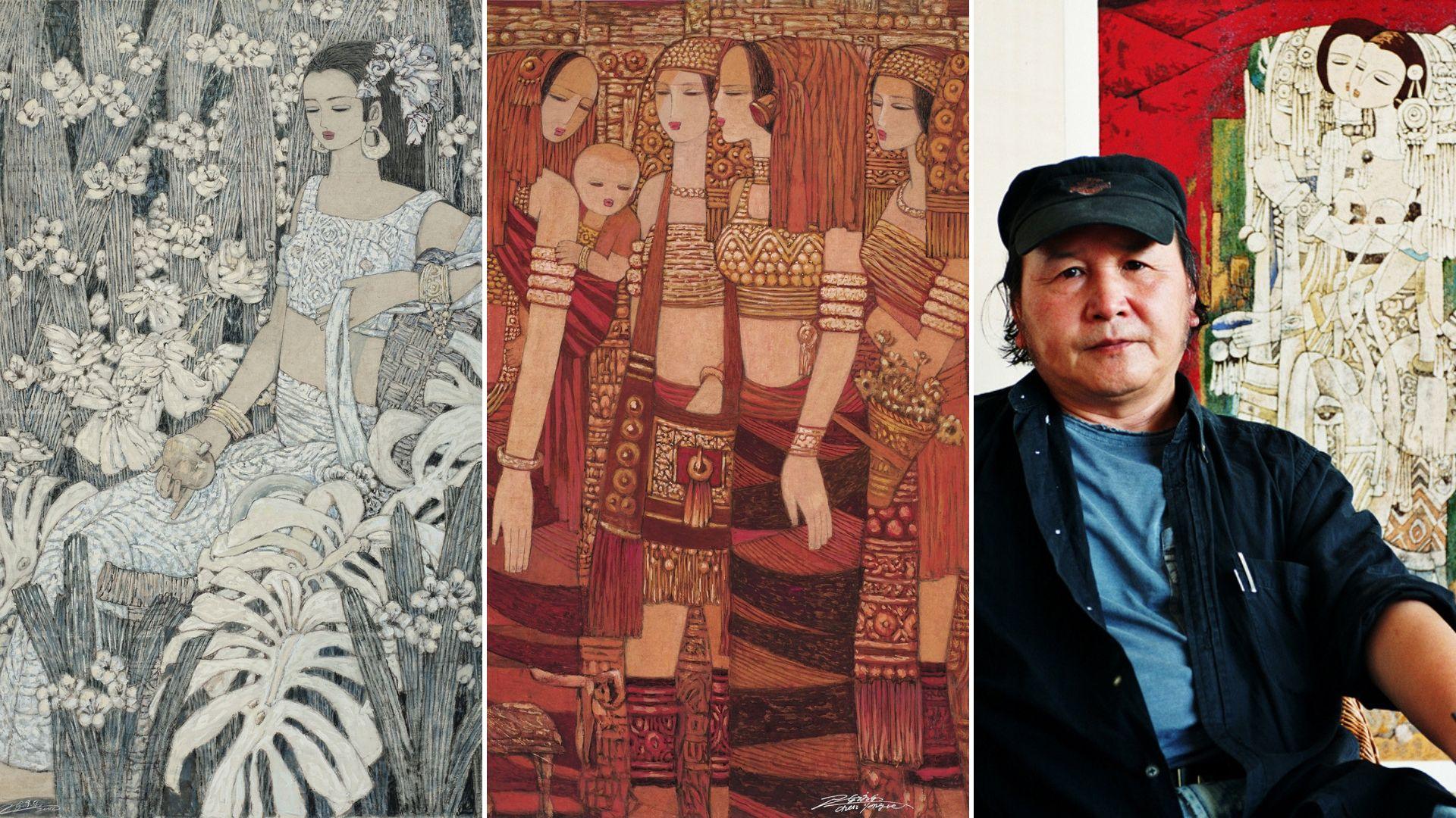 ARTIST PAGE  CHEN YONGLE (Chinese, Yunnan Province, b. 1944)
