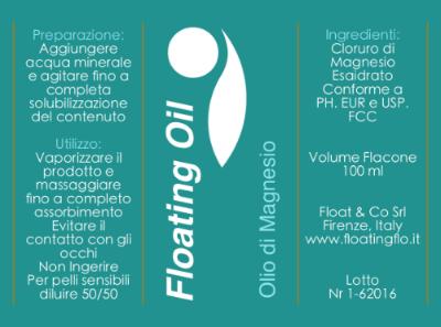 FLOATING OIL: 100 ml € 15; 200 ml € 24