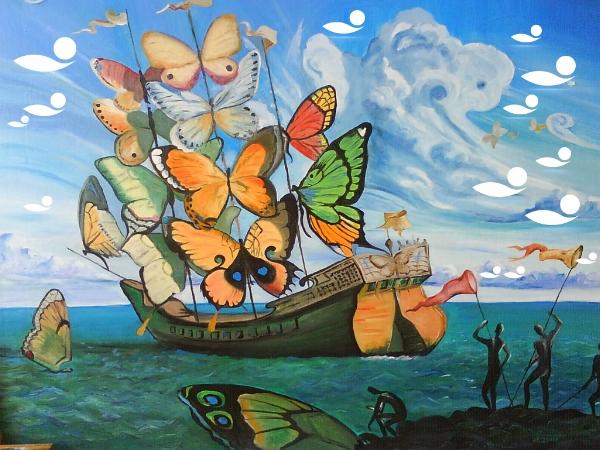 Salvador Dalìe Floating Flo
