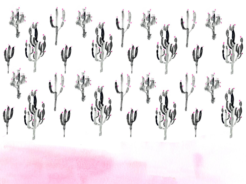 Watercolor Desktop Wallpaper Art Fun Freebie Ladyfolk Studio