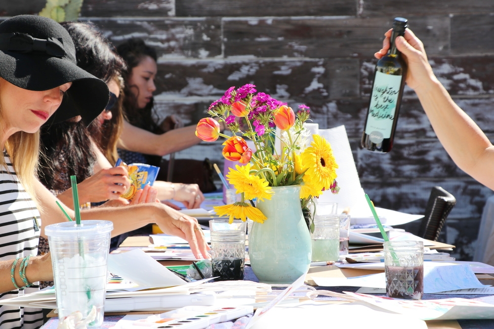 Creative gifts for your Mom this Mother's Day Watercolor workshop
