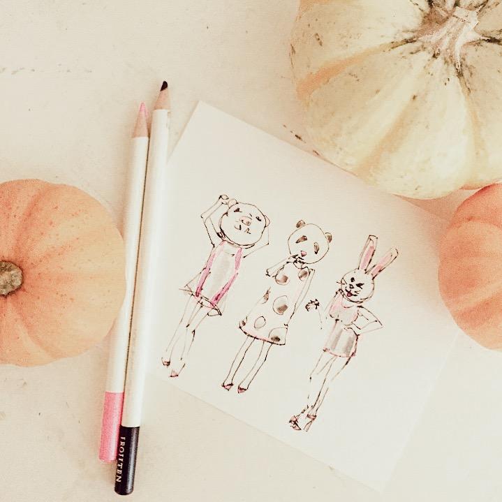 Ladyfolk Studio Halloween art