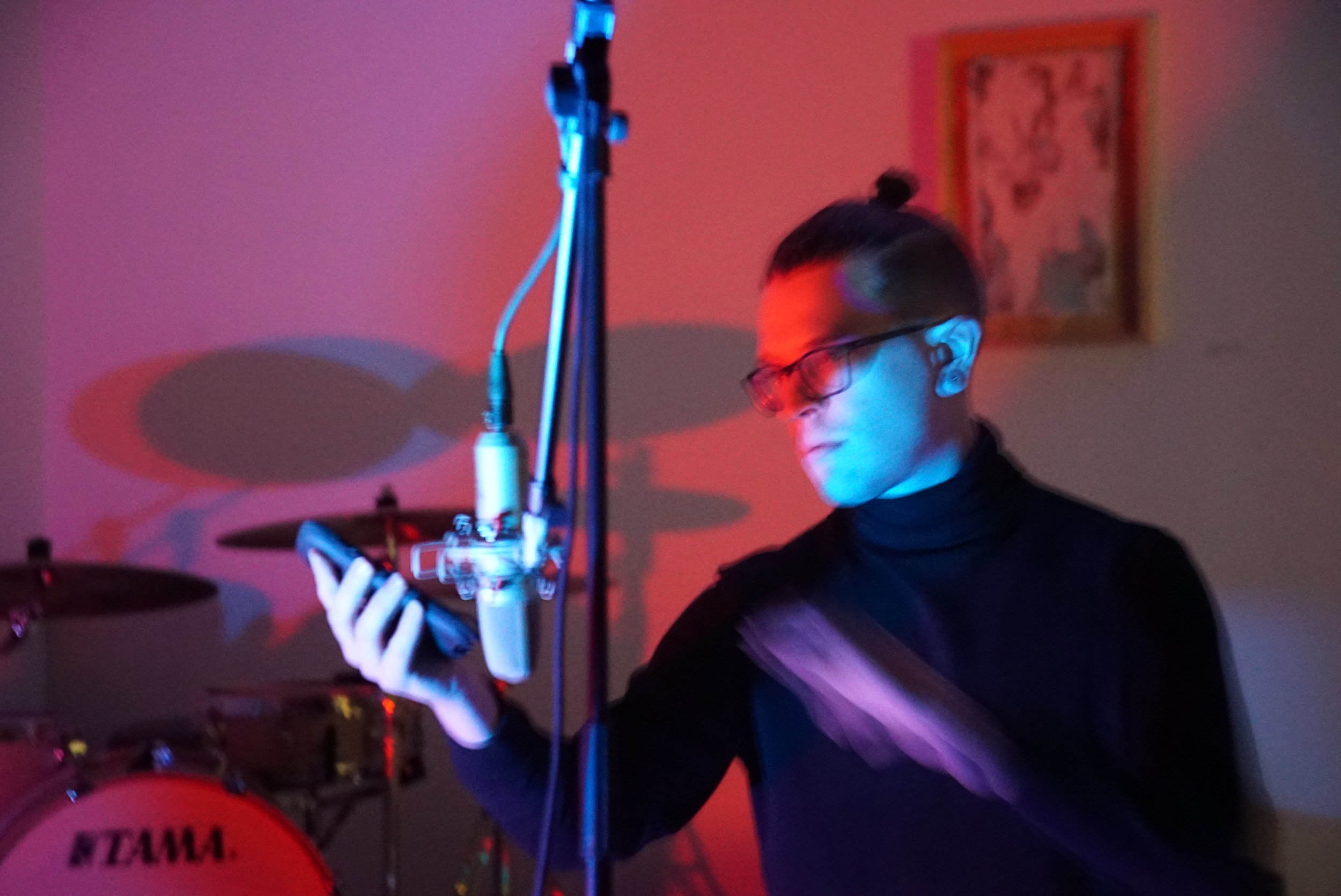 Performing  Time To Change  at Vulpes Bastille 2.24.19  PC Mark Allen