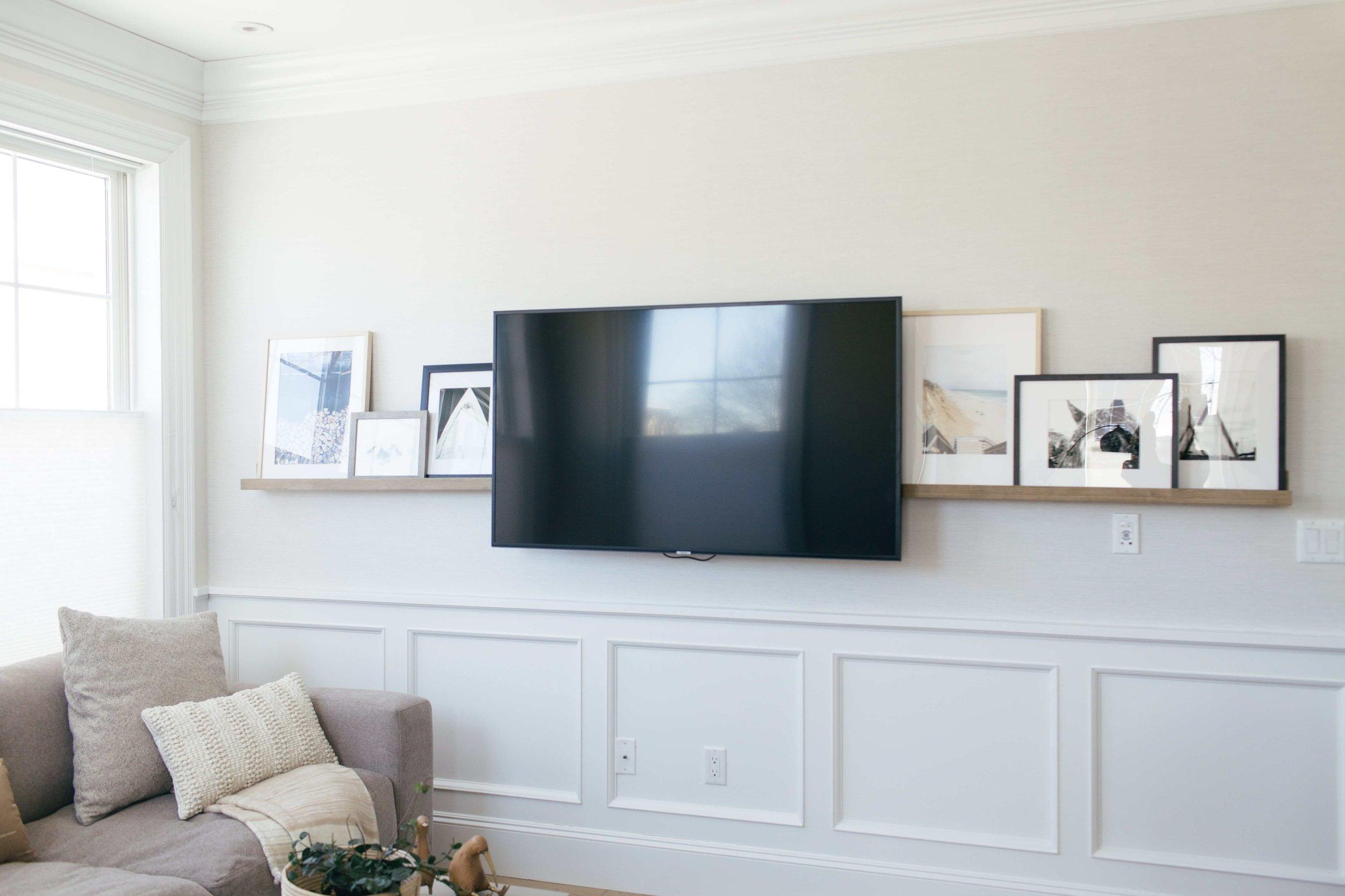 organic living room design by Boston based designer mStarr design