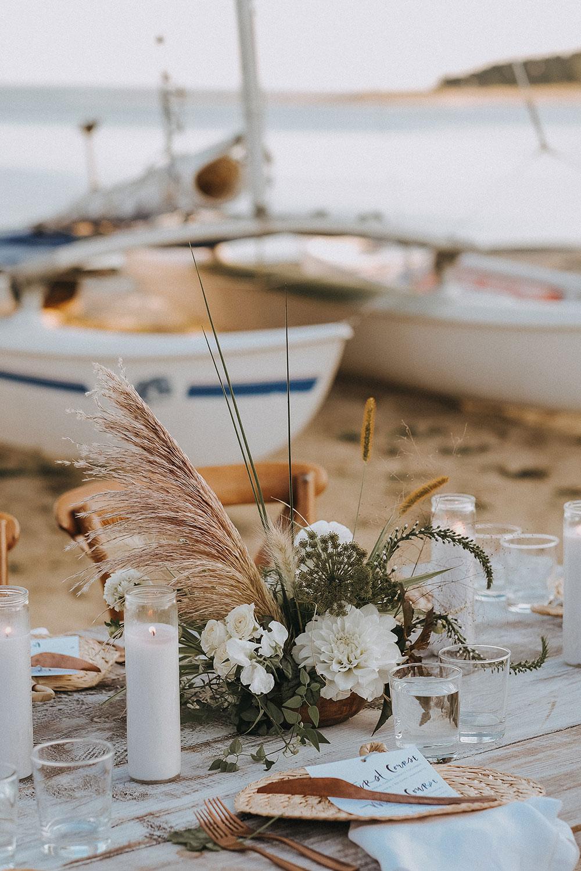 CAPE COD AL FRESCO BEACH WEDDING by Boston based designer mStarr design