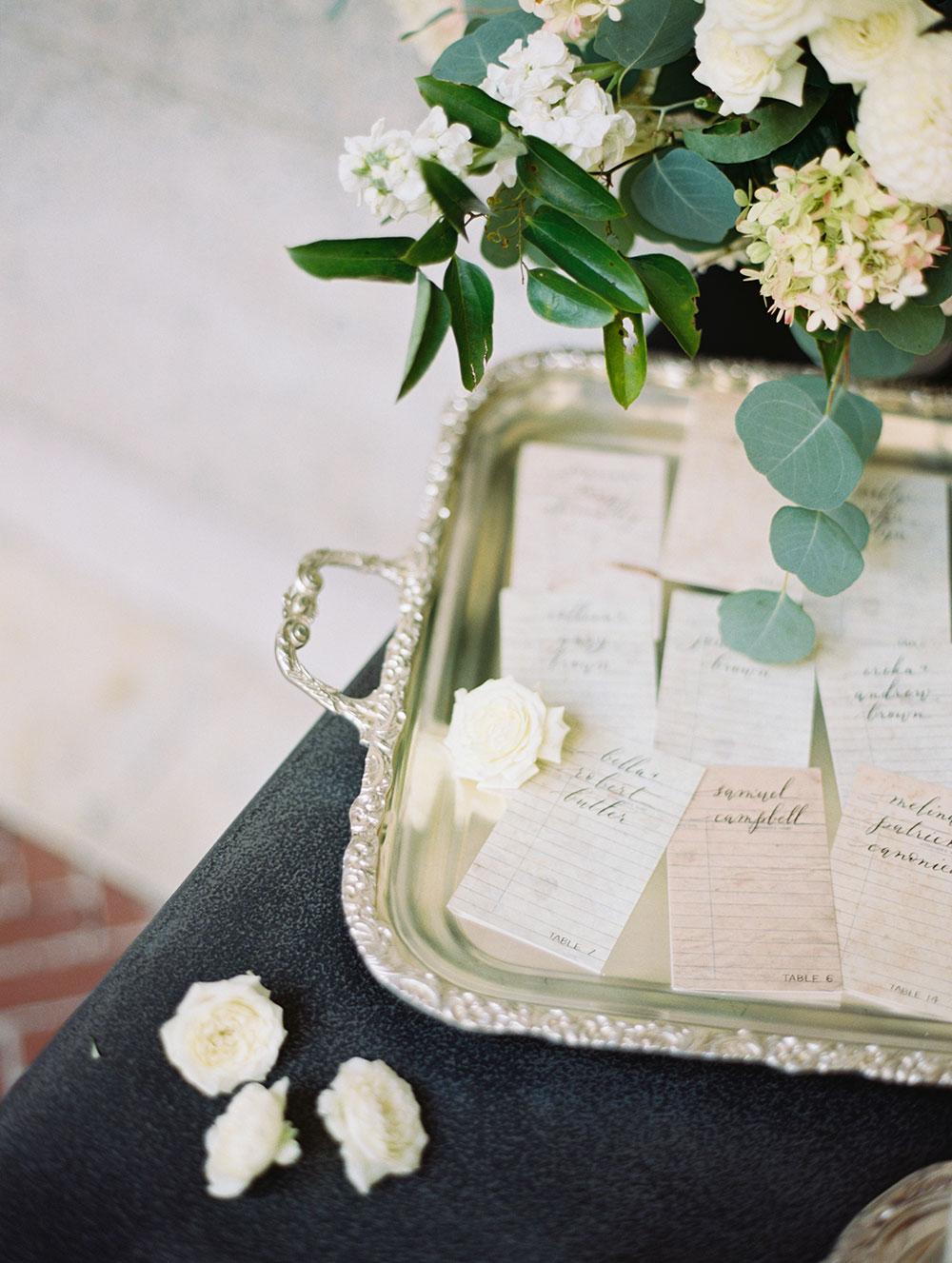 BOSTON PUBLIC LIBRARY WEDDING by Boston based designer mStarr design