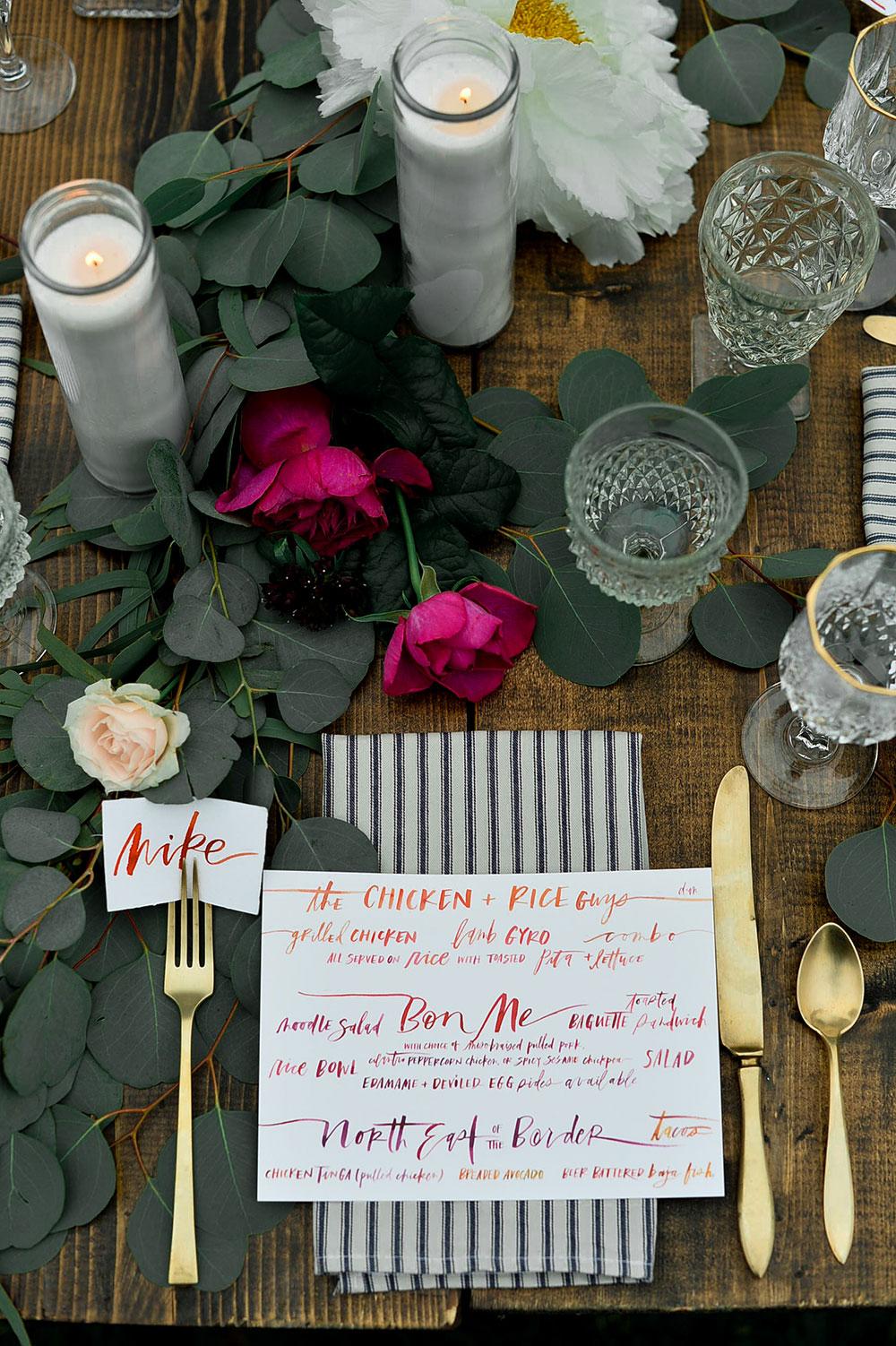 OUTDOOR ESTATE WEDDING by Boston based designer mStarr design