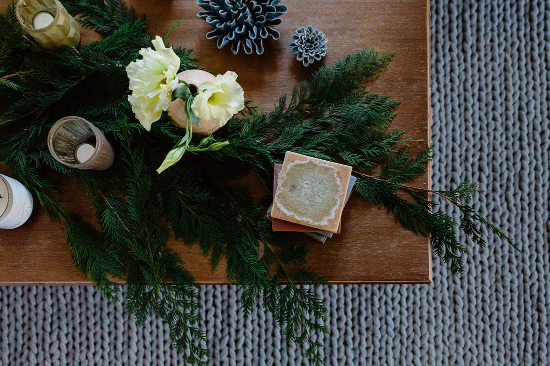 joss & main holiday styling by Boston based designer mStarr design
