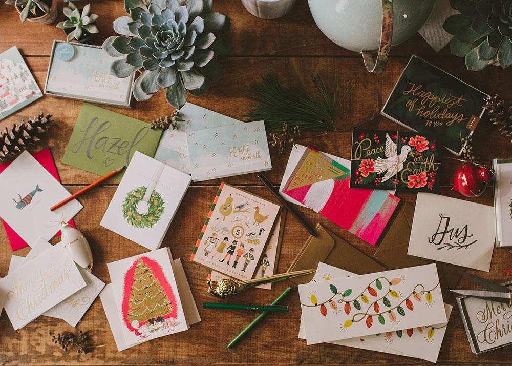 holiday catalog creative direction by Boston based designer mStarr design