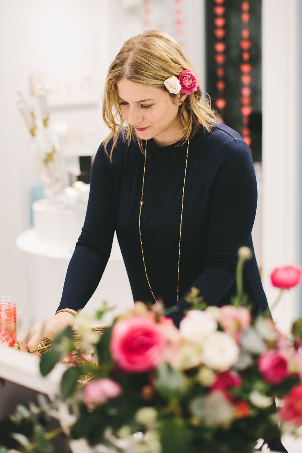 valentine's popup shoot by Boston based designer mStarr design