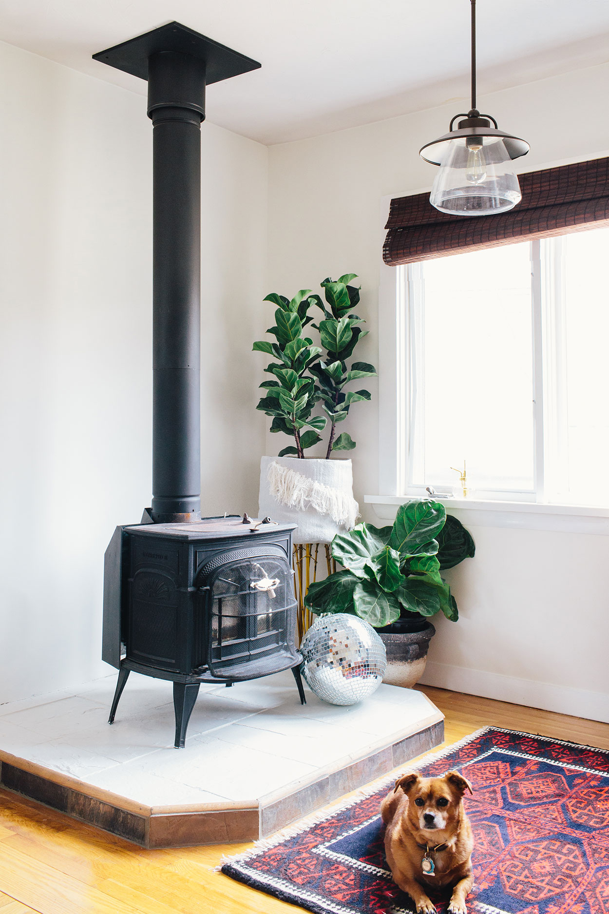 #farmhousedialfano living room / circa early 2015 on design*sponge / photo by  joyelle west