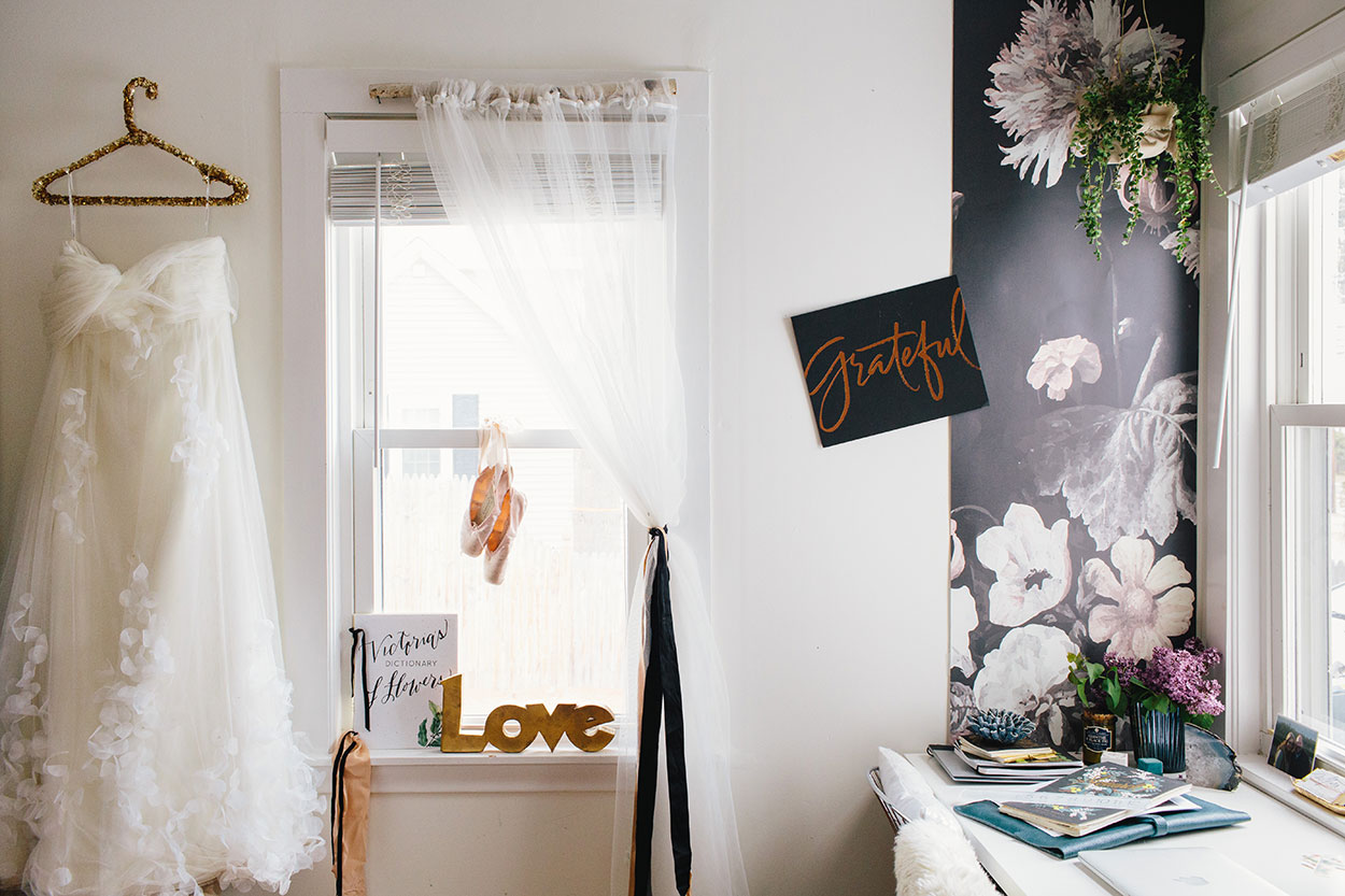 #farmhousedialfano office / circa early 2015 on design*sponge / photo by  joyelle west