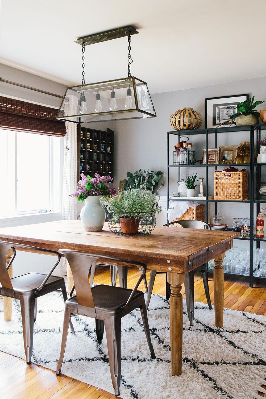 #farmhousedialfano dining room / circa early 2015 on design*sponge / photo by  joyelle west
