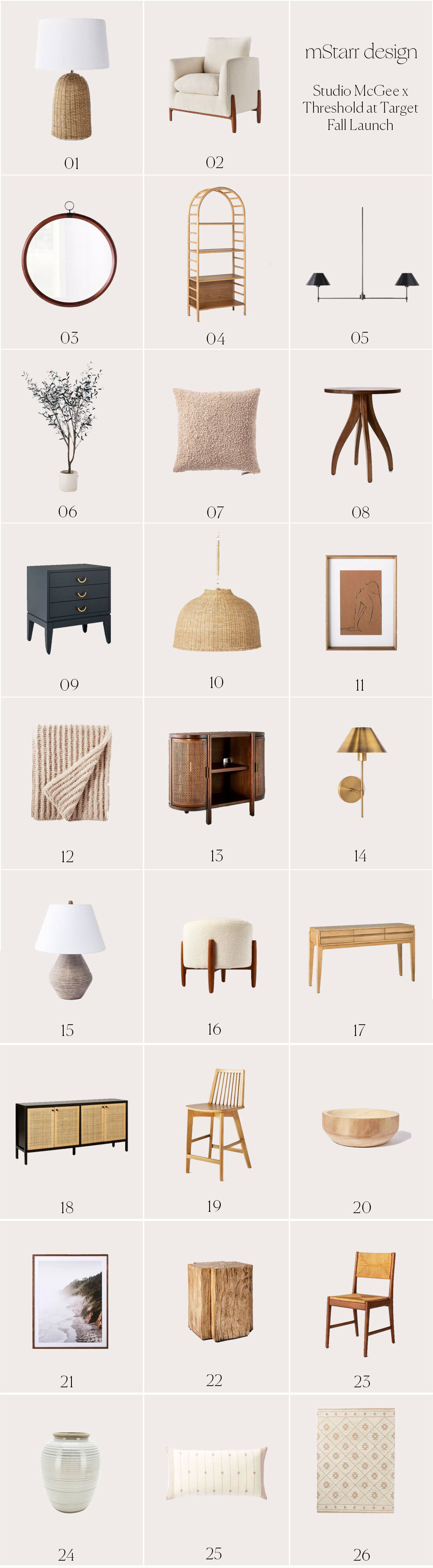 Currently Coveting The Studio Mcgee X Threshold For Target Fall Collection Mstarr Design