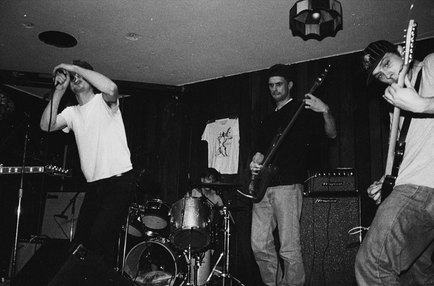 Joe McTighe, Neil Chastain, Chris Apanius, Rockie Brockway (from left)