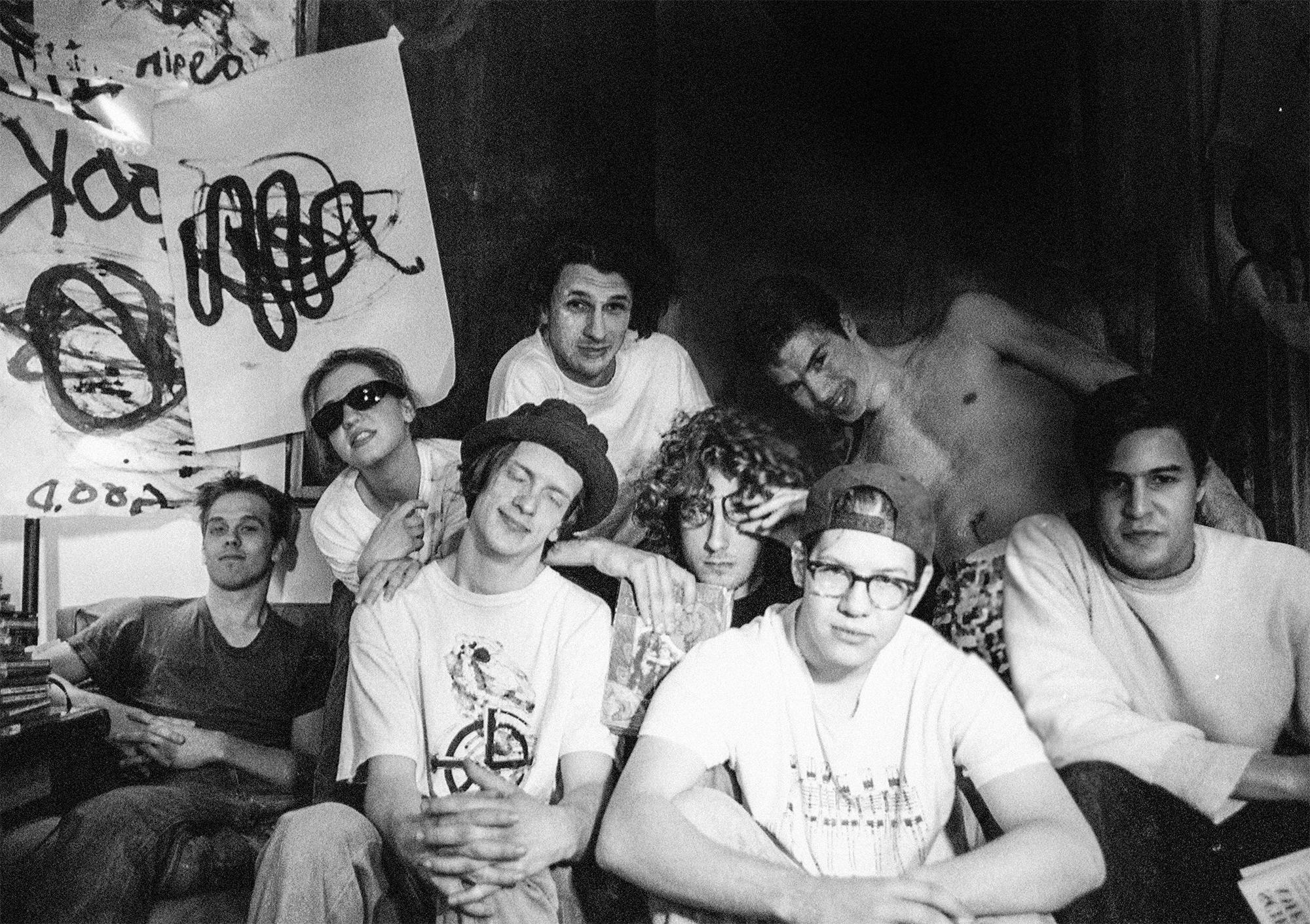 Rockie Brockway, Millie Benson, Neil Chastain, Chris Apanius, David McClelland, Joe McTighe, Ron Kretsch, Tarik Hussein (from left)
