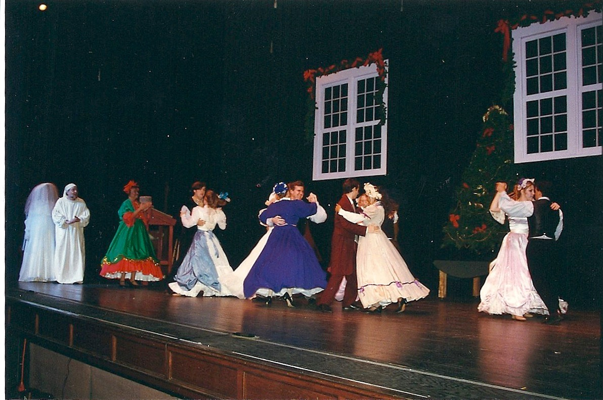 Scrooge and G Christmas past at dance.jpg
