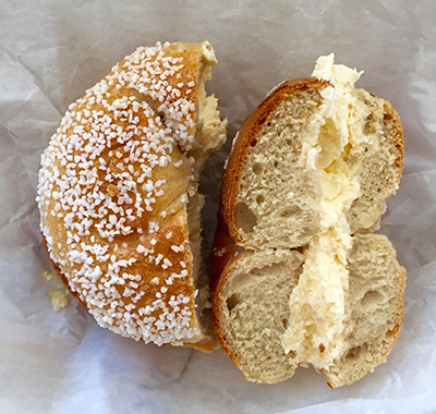 Ess a Bagel ! Favorite bagels in the city, I ate here all the time because it was cheap and relatively close to work.