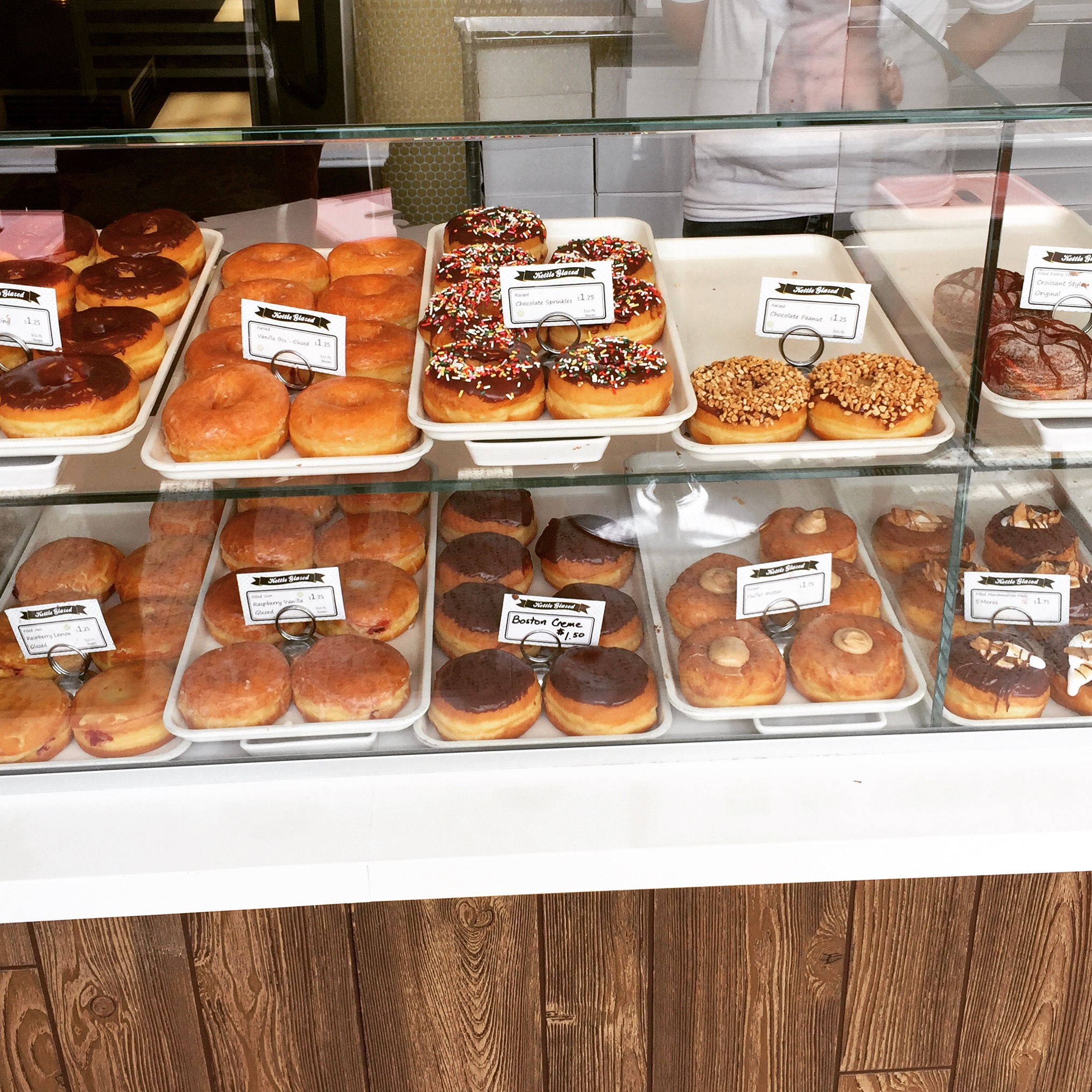 Old school donuts at  Kettle Glazed .