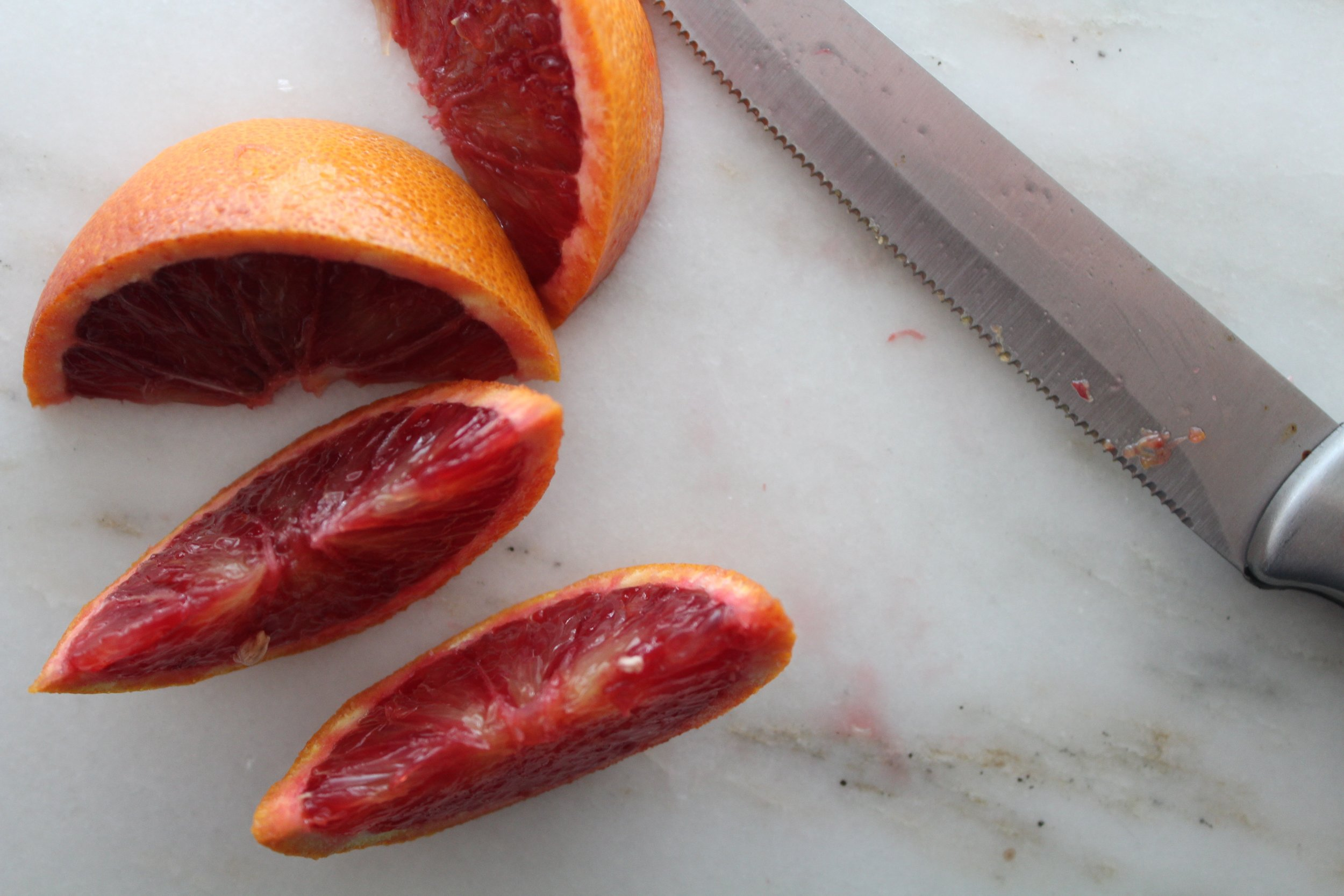 orange slices for garnishing