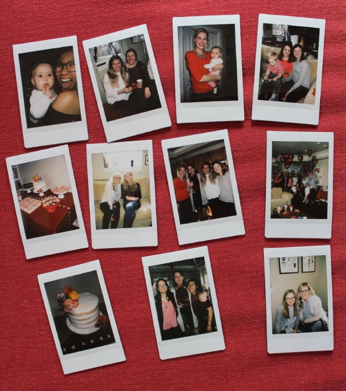 My classmate's daughter, Abby, brought the COOLEST polaroid camera and captured these pictures!