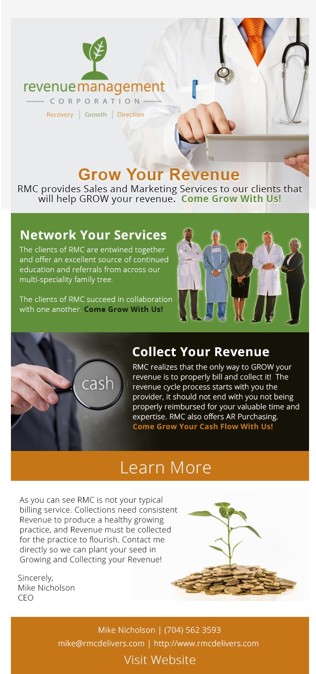Optimize Your Revenue - Revenue Management Corporation provides customers with an all-in-one efficient and results-driven solution. The clients of Revenue Management Corporation succeed in collaboration with one another. Come Grow With Us!